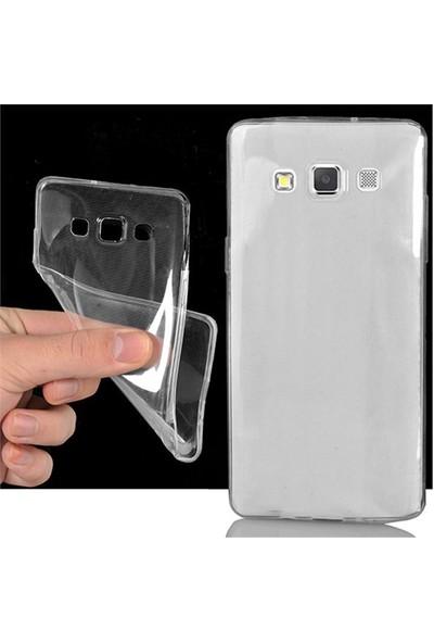 CoverZone Samsung Galaxy A3 Kılıf 0.3Mm Ultra İnce Silikon Şeffaf