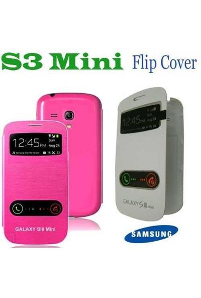 Carda Galaxy S3 Mini Kılıf Flip Caver
