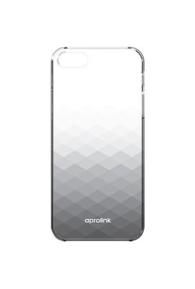 Aprolink Apple iPhone 6 Gradient Ultra İnce Yari Şeffaf Kılıf Siyah - I6PP10BK