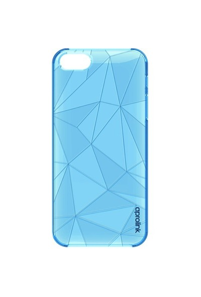Aprolink Apple iPhone 6 Origami Kristal Desenli Ultra İnce Kılıf Mavi - I6PP21BL