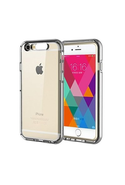 CoverZone Apple İphone 6 Kılıf Rock Light Tube Case