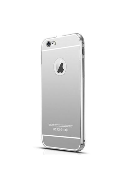 Markaavm İphone 5 Kılıf İphone 5S Aynalı Bumper