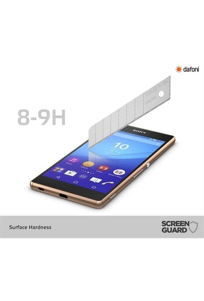 Dafoni Sony Xperia Z5 Ön + Arka Tempered Glass Premium Cam Ekran Koruyucu