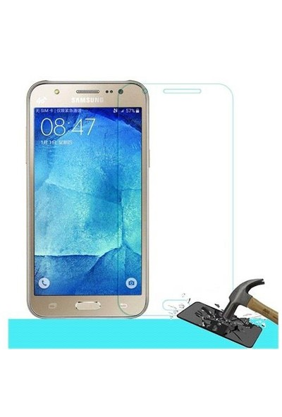 Maks Samsung Galaxy J7 Temperli Ekran Koruyucu