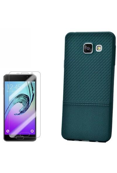 Gpack Samsung Galaxy A3 Kılıf Matrix Silikon + Cam