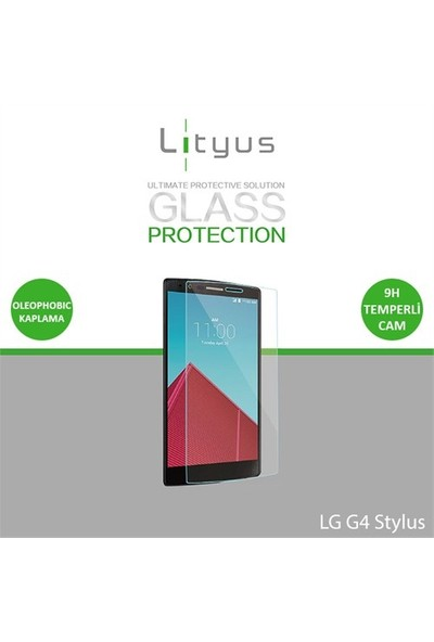 Lityus LG G4 Stylus Cam Ekran KoruyucuLityus LG G4 Stylus Cam Ekran Koruyucu