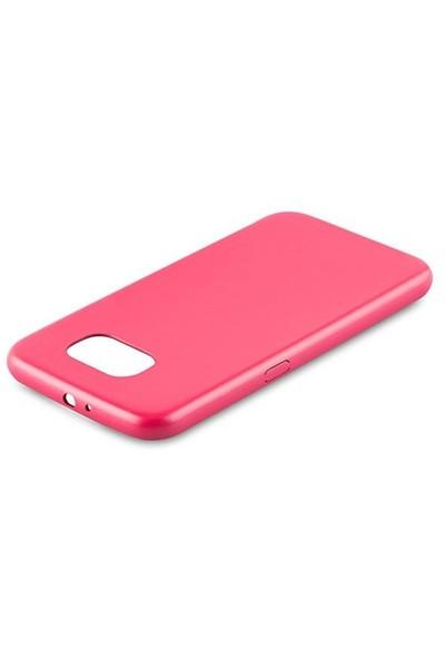 Addison Samsung Galaxy S6 Gül Rengi Koruyucu Kılıf