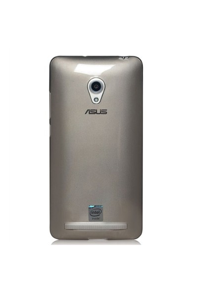 Microsonic Transparent Soft Asus Zenfone 6 Kılıf Siyah