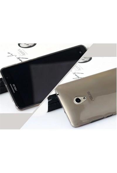 Microsonic Transparent Soft Asus Zenfone 5 Kılıf Siyah