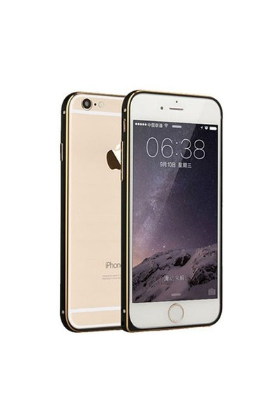 Markaawm Apple iPhone 6 Plus Kılıf Metal Bumper Çerçeve