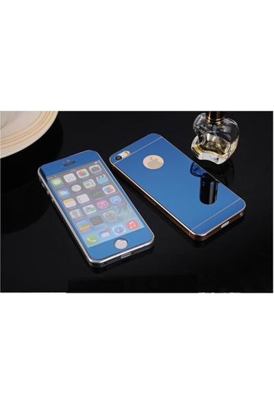 Cadlı Apple İphone 5 Ön Arka Temperli Renkli Ekran Koruyucu Film