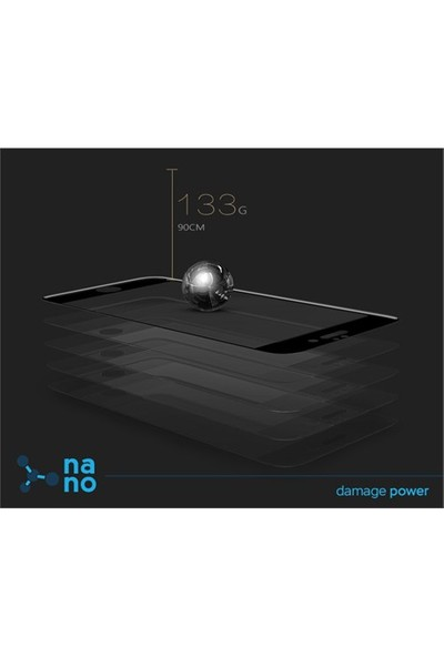 Dafoni Samsung Galaxy A5 2016 Nano Glass Premium Cam Ekran Koruyucu