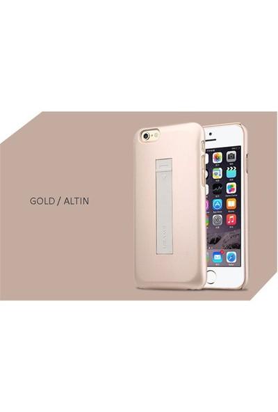 Usams Apple iPhone 6/6s USB Kablolu Rubber Kapak Altın