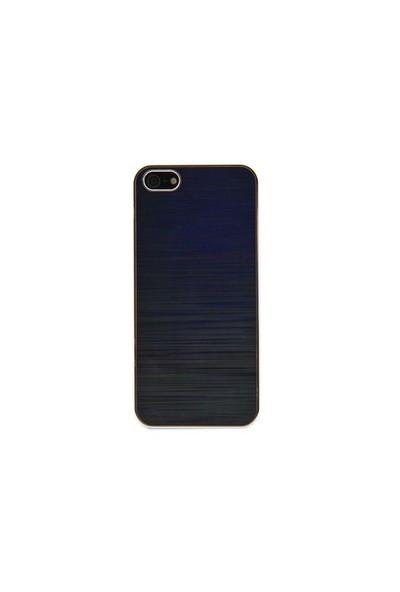 Vacca Apple iPhone 5/5s 3D Uzay S-Line Siyah