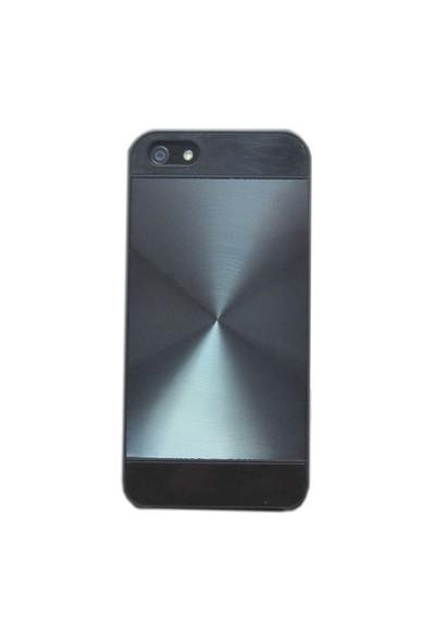 Duck Apple iPhone 5 Metal Zero - Siyah Kapak