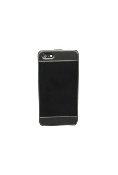 Duck Apple iPhone 5 Metal Siyah Kapak