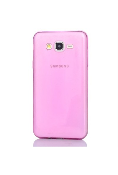 Gpack Samsung Galaxy A3 Kılıf 0.2Mm Pembe Silikon