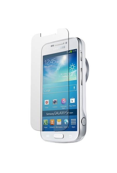 Microsonic Samsung Galaxy S4 Zoom Ultra Şeffaf Ekran Koruyucu