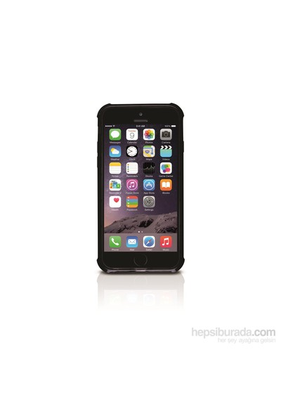Odoyo Air Edge Cushioned Protective Snap Case For İphone 6 Crystal Black