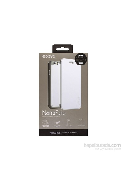 Odoyo Nano Folio Premium Flip Case For İphone 6