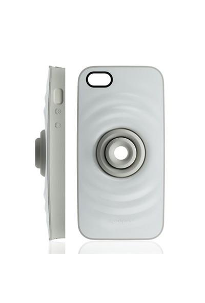 Xoopar Rıpple İphone5 Protection Case(White Back Gray)