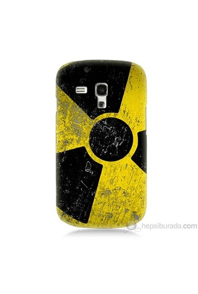 Teknomeg Samsung Galaxy S3 Mini Kapak Kılıf Radyasyon Baskılı Silikon
