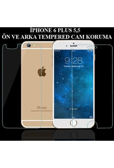 Markacase Apple İphone 6 Plus 5,5 Ön Ve Arka Tempered Koruyucu