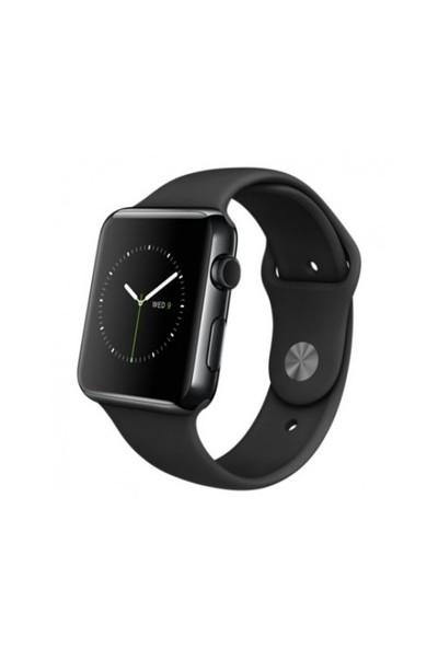 Apple Watch 42 Mm Uzay Siyahı Paslanmaz Çelik Kasa Siyah Spor Kordon Mlc82tu/A Akıllı Saat