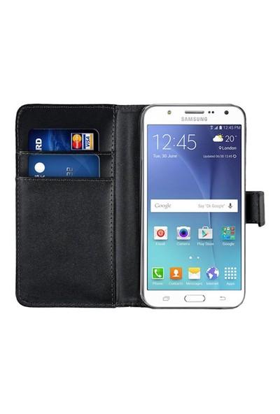 Microsonic Samsung Galaxy J7 Kılıf Cüzdanlı Deri Siyah