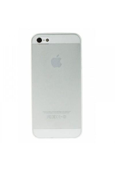 Mycolors Apple iPhone 5/5s Şeffaf İnce Silikon Arka Kapak - MYC-0083
