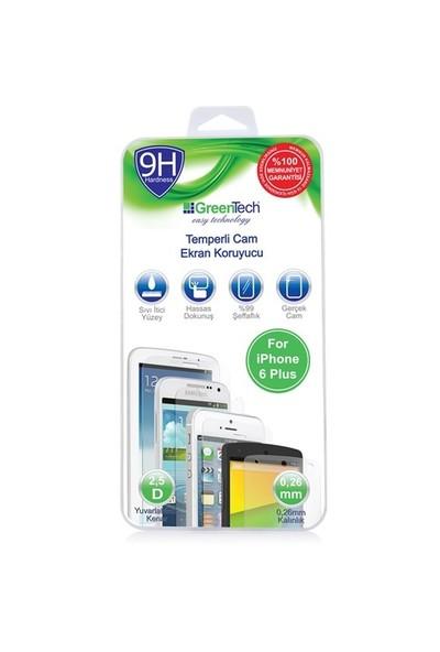 Greentech Apple İphone 6 Plus Glass Cam Ekran Koruyucu