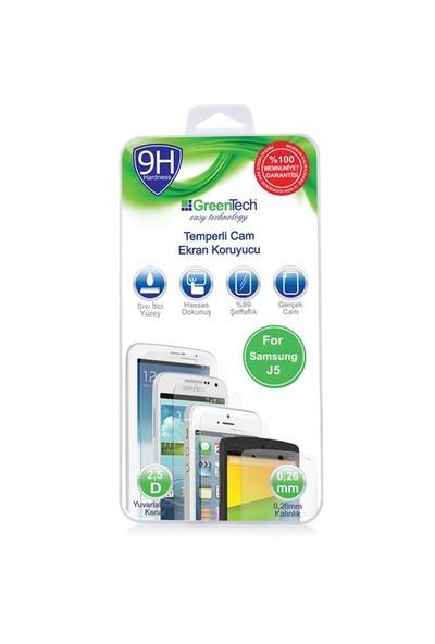 Greentech Samsung J5 Glass Cam Ekran Koruyucu