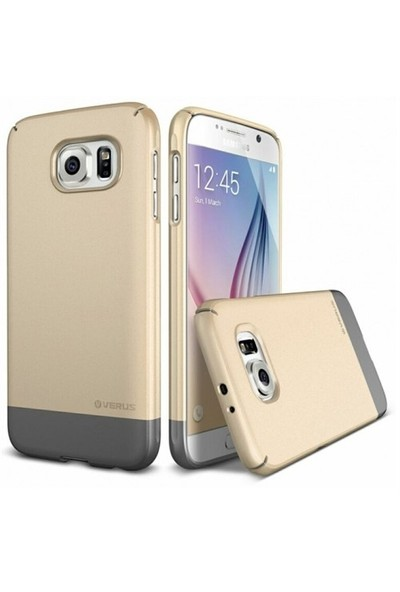 Verus Samsung Galaxy S6 Kılıf 2 Link - Gold