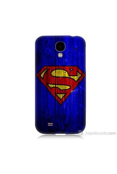Teknomeg Samsung Galaxy S4 Kapak Kılıf Superman Baskılı Silikon