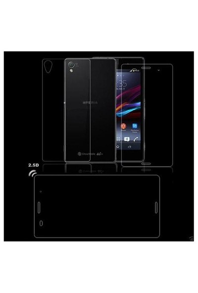 Markacase Sony Xperıa Z Ultra Ön Ve Arka Tempered Ekran Koruyucu