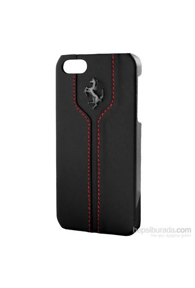 CG Mobile Apple iPhone 4/4s Ferrari Montecarlo Siyah Genuine Deri Kılıf FEMTHCP4BL