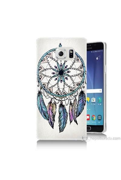 Teknomeg Samsung Galaxy Note 5 Kapak Kılıf Dream Catcher Baskılı Silikon