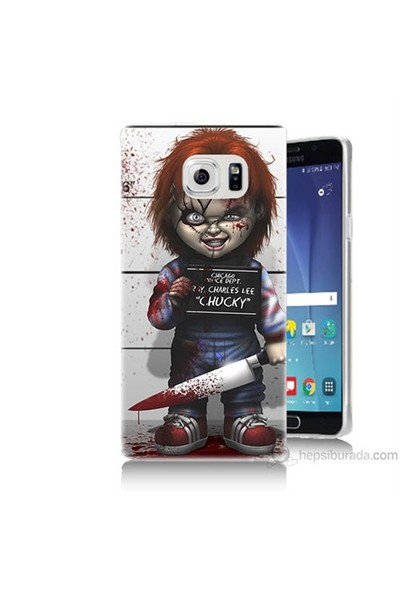 Teknomeg Samsung Galaxy Note 5 Kapak Kılıf Chaki Baskılı Silikon