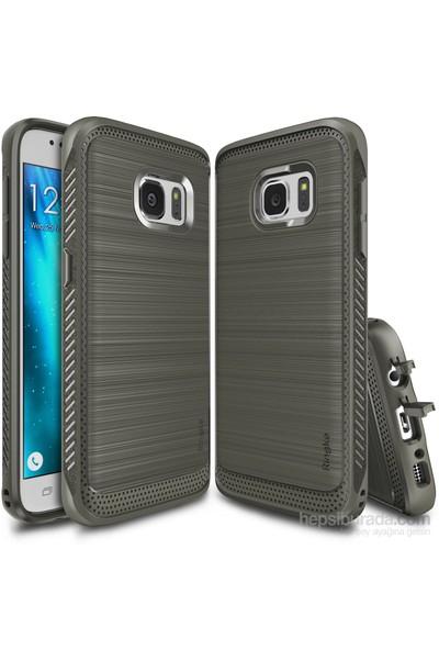 Ringke Onyx Galaxy S7 Kılıf Mist Gray - Ultra Extra Darbe Dağıtıcı Tam Koruma