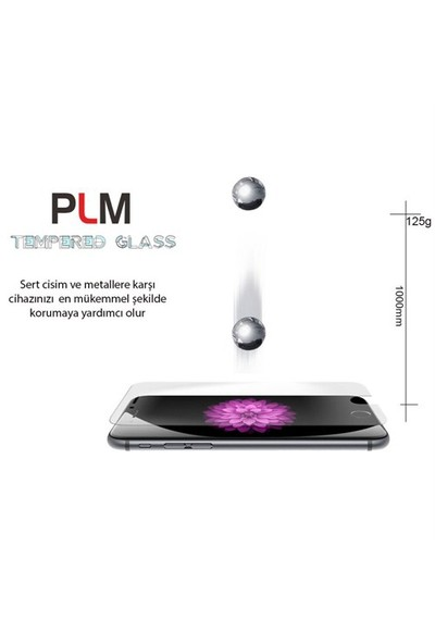 PLM iPhone 5 Tempered Glass Cam Ekran Koruyucu - 71039001033