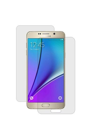 Microsonic Samsung Galaxy Note 5 Ön + Arka Kavisler Dahil Tam Ekran Kaplayıcı Film
