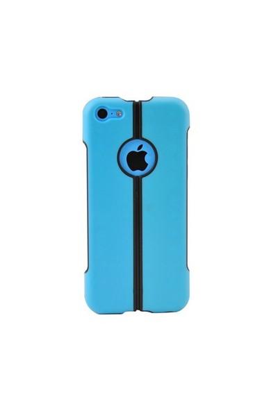 Duck İphone 5C Katlanir Kapak Daily Mavi