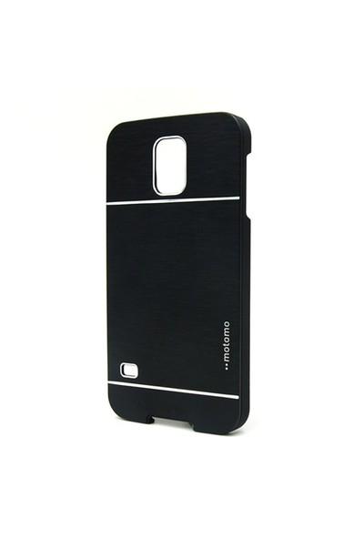 Markaawm Samsung Galaxy S5 Mini Kılıf Motomo Metal Kapak