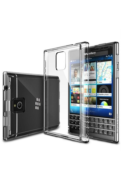 Ringke BlackBerry Passport Şeffaf Arka Kapak (Darbe Emici)