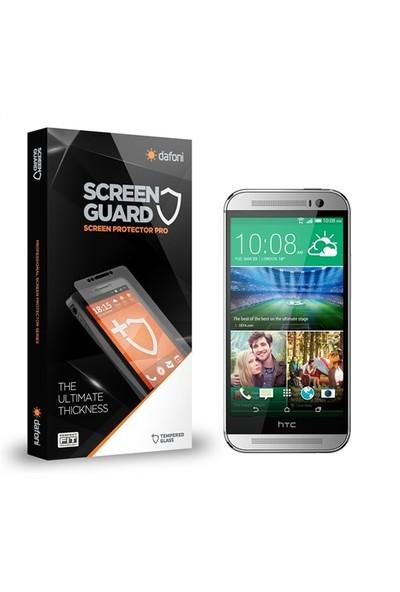 Dafoni Htc One M8 Tempered Glass Premium Cam Ekran Koruyucu