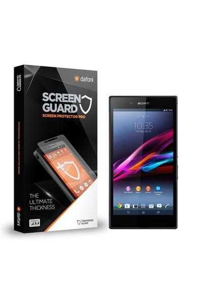 Dafoni Sony Xperia Z Ultra Tempered Glass Premium Cam Ekran Koruyucu