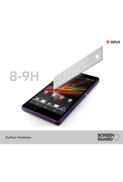 Dafoni Sony Xperia Z Ön + Arka Tempered Glass Premium Cam Ekran Koruyucu