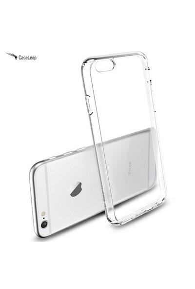 Case Leap İphone 6 Plus İnce Silikon Kılıf Şeffaf