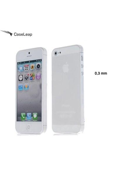 Case Leap İphone 5/5S/Se 0.3 Mm Ultra İnce Silikon Kılıf Şeffaf