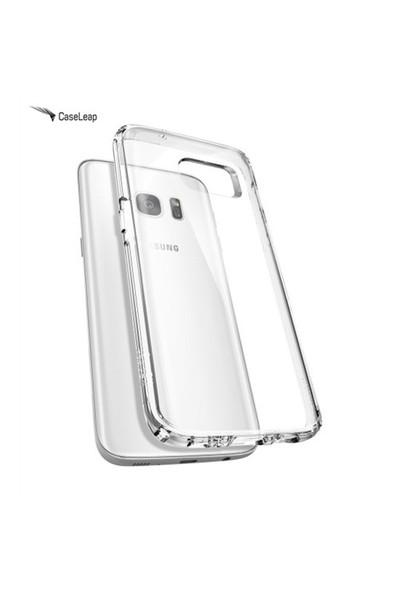 Case Leap Samsung Galaxy S7 Edge İnce Silikon Kılıf Şeffaf